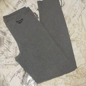 Grey Reebok leggings
